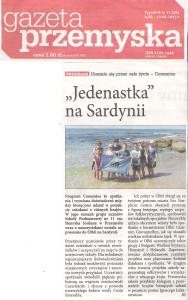 Gazeta Przemyska - Sardynia