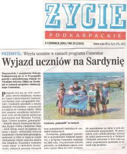 Zycie Przemyskie Sardynia